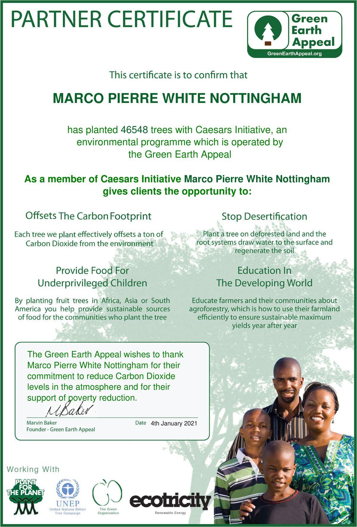 Marco Pierre White Nottingham