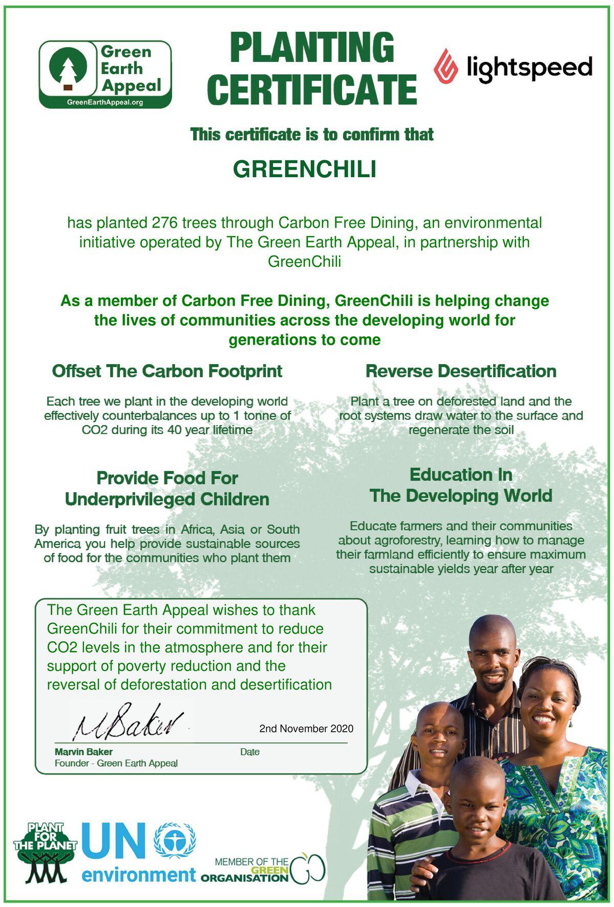Groene Chili