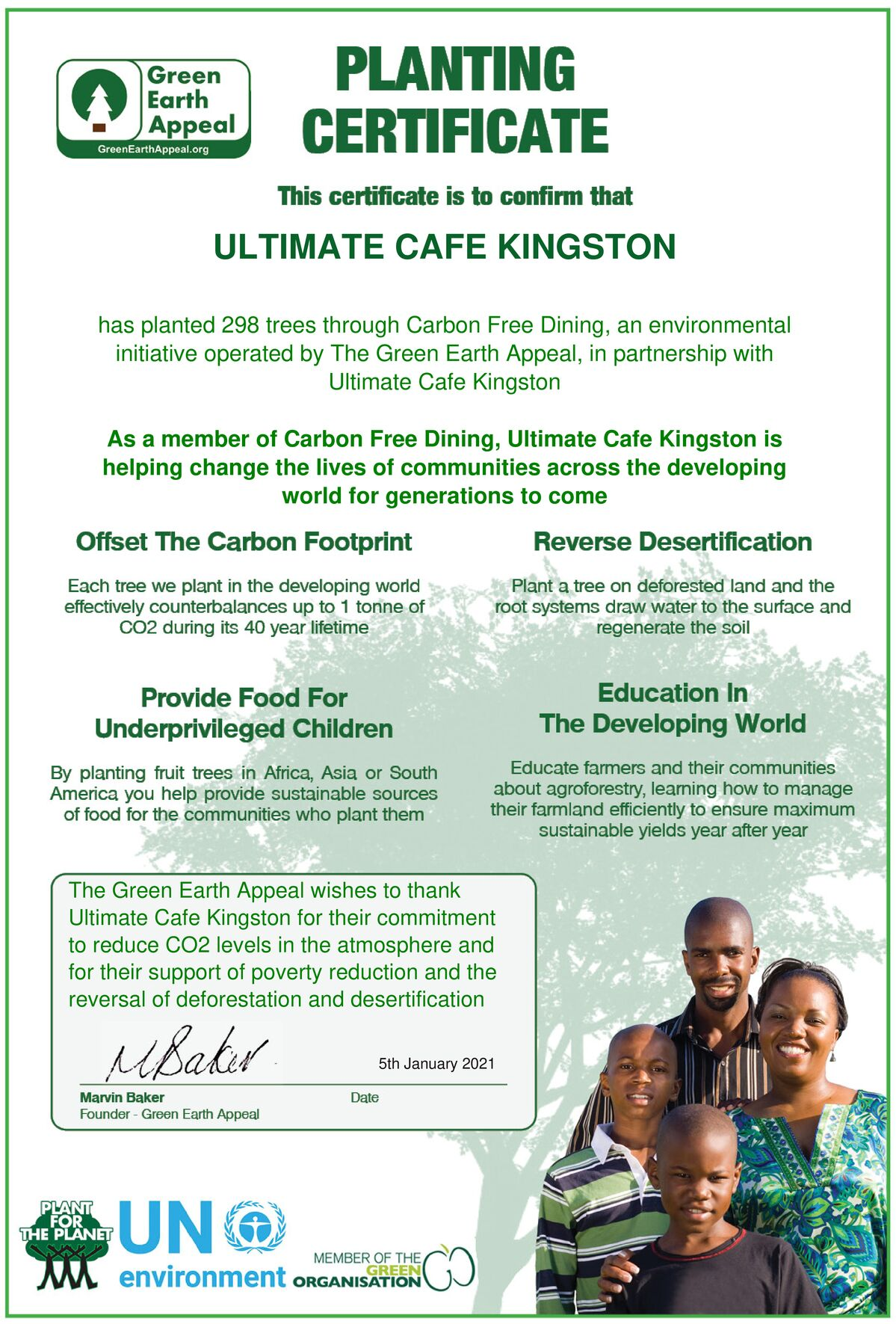 Ultimate Cafe – Kingston