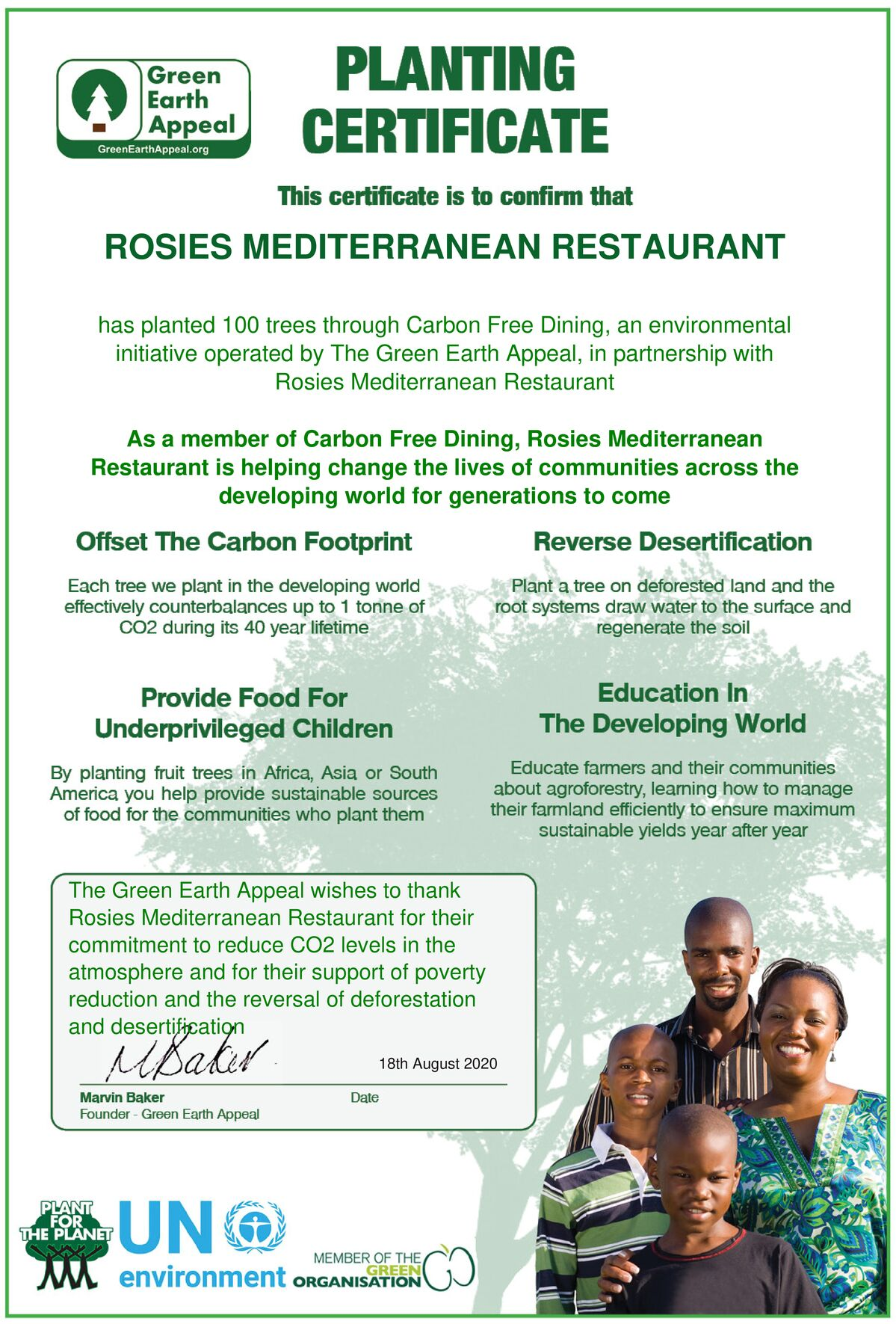 Rosie's Mediterranean
