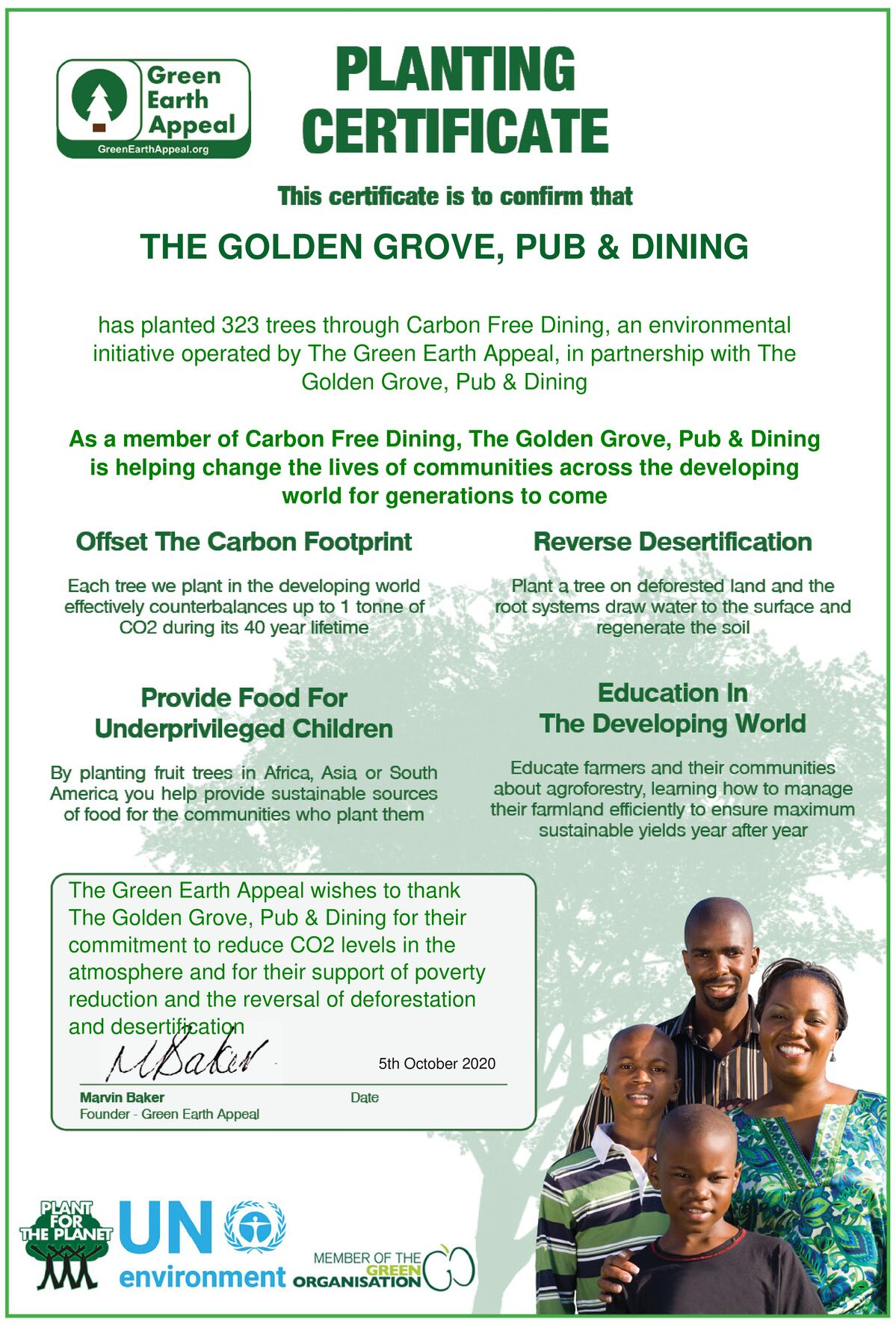 The Golden Grove – Chertsey