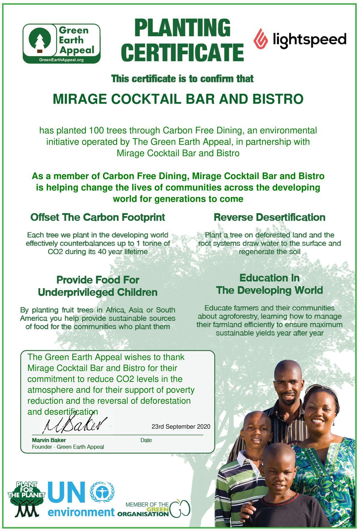 Mirage Cocktail Bar & Bistro