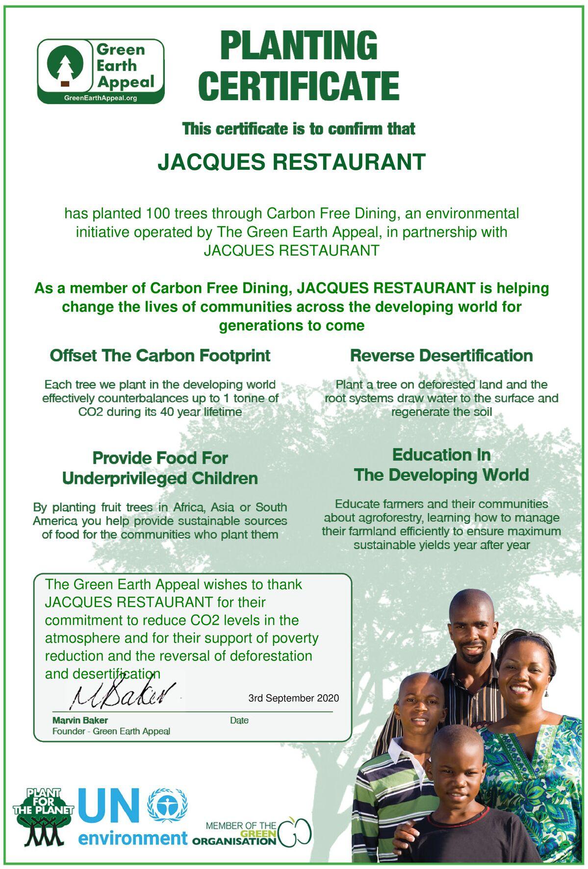 Jacques Restaurant & Bar