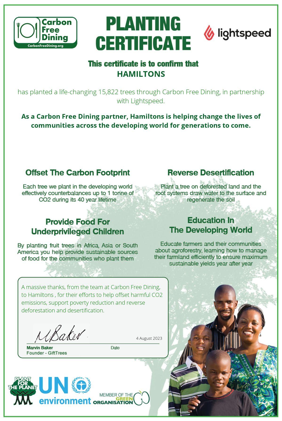 Hamiltons – Olicana Park