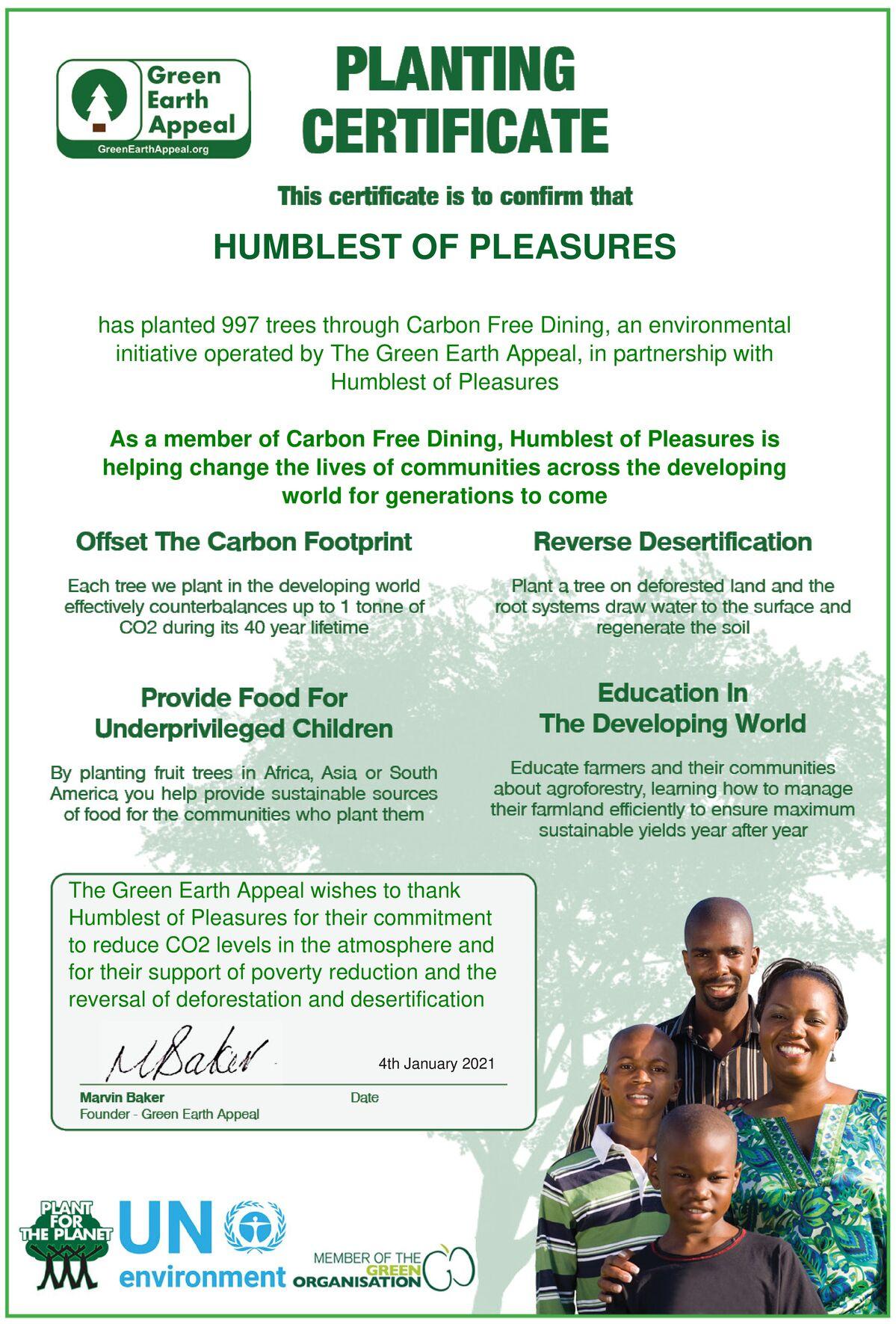 Humblest of Pleasures