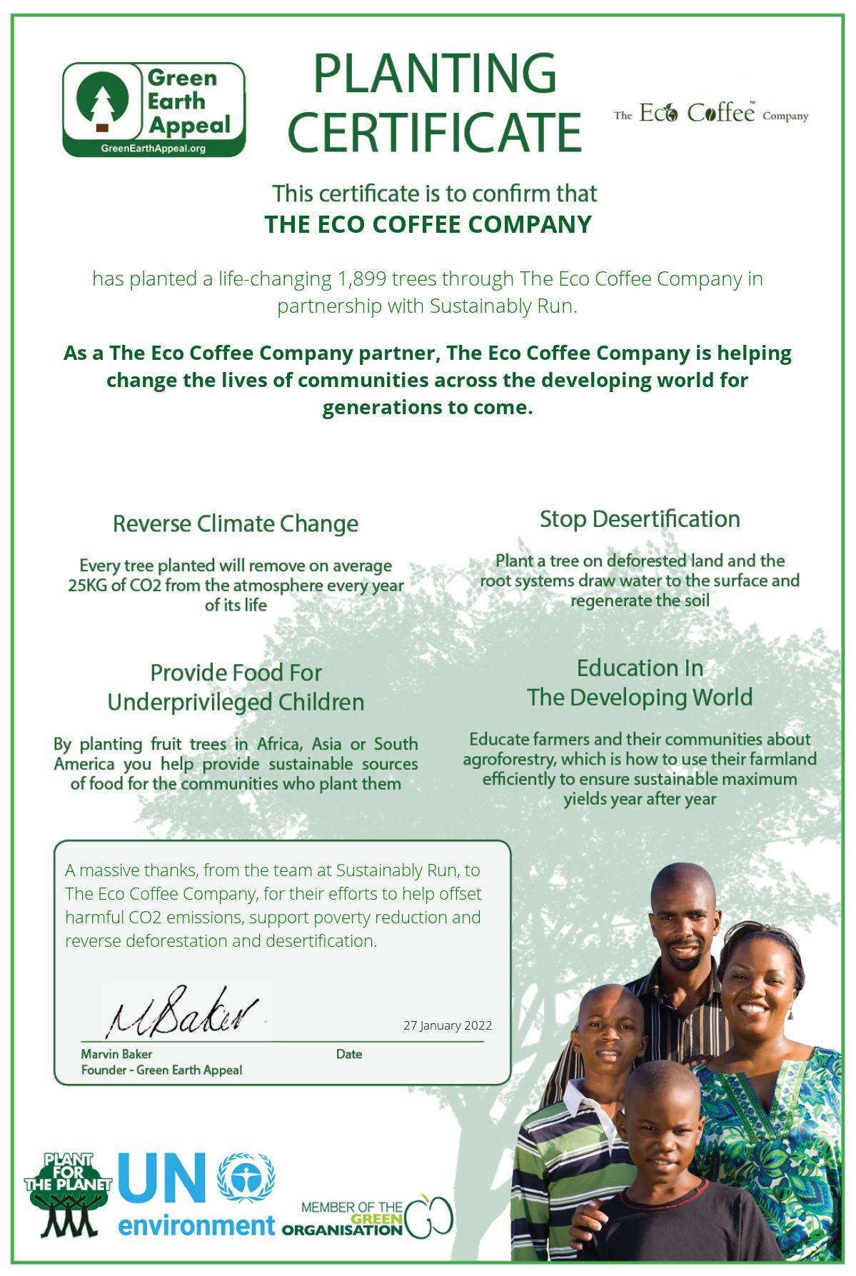 Eco coffee company