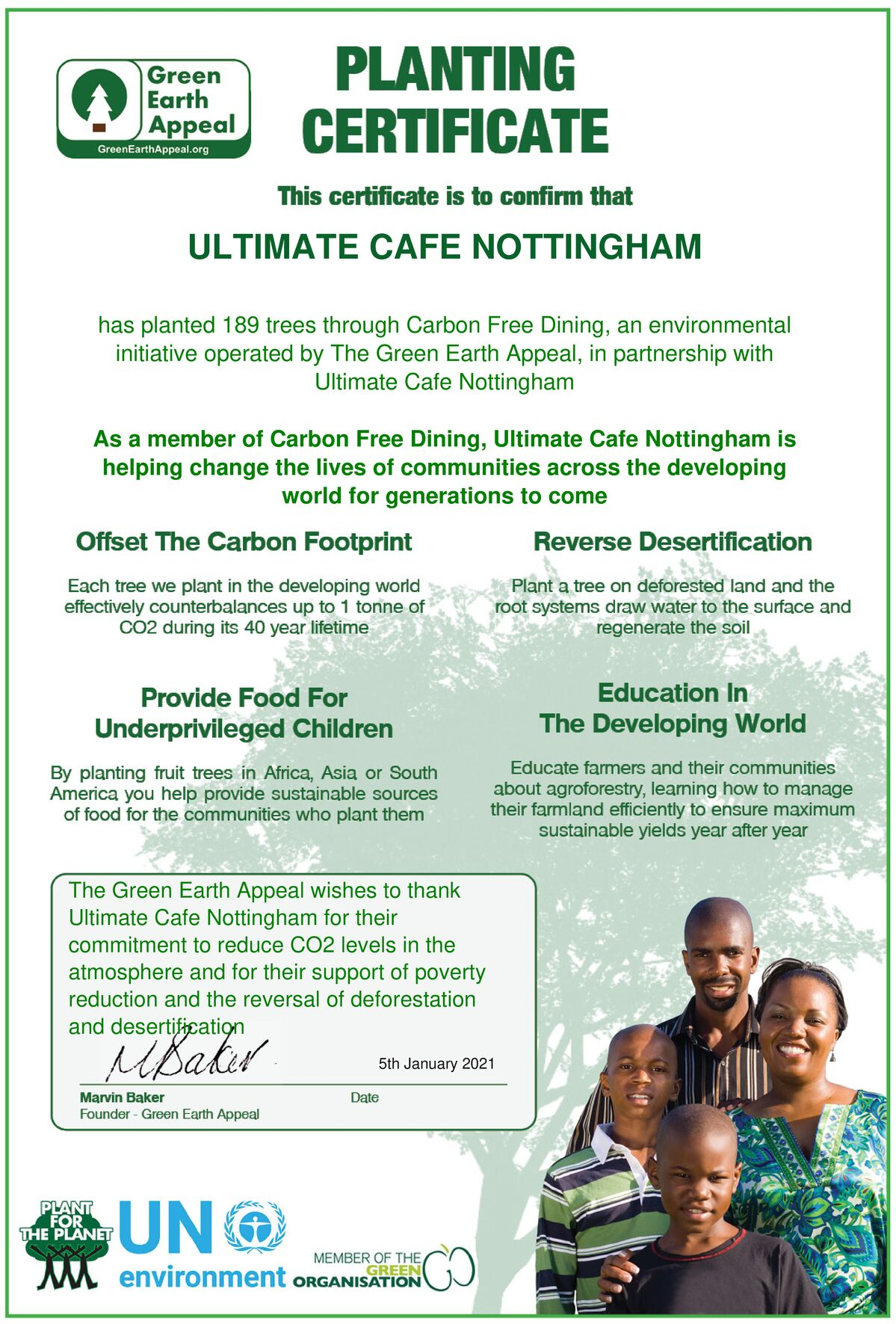 Ultimate Cafe – Nottingham