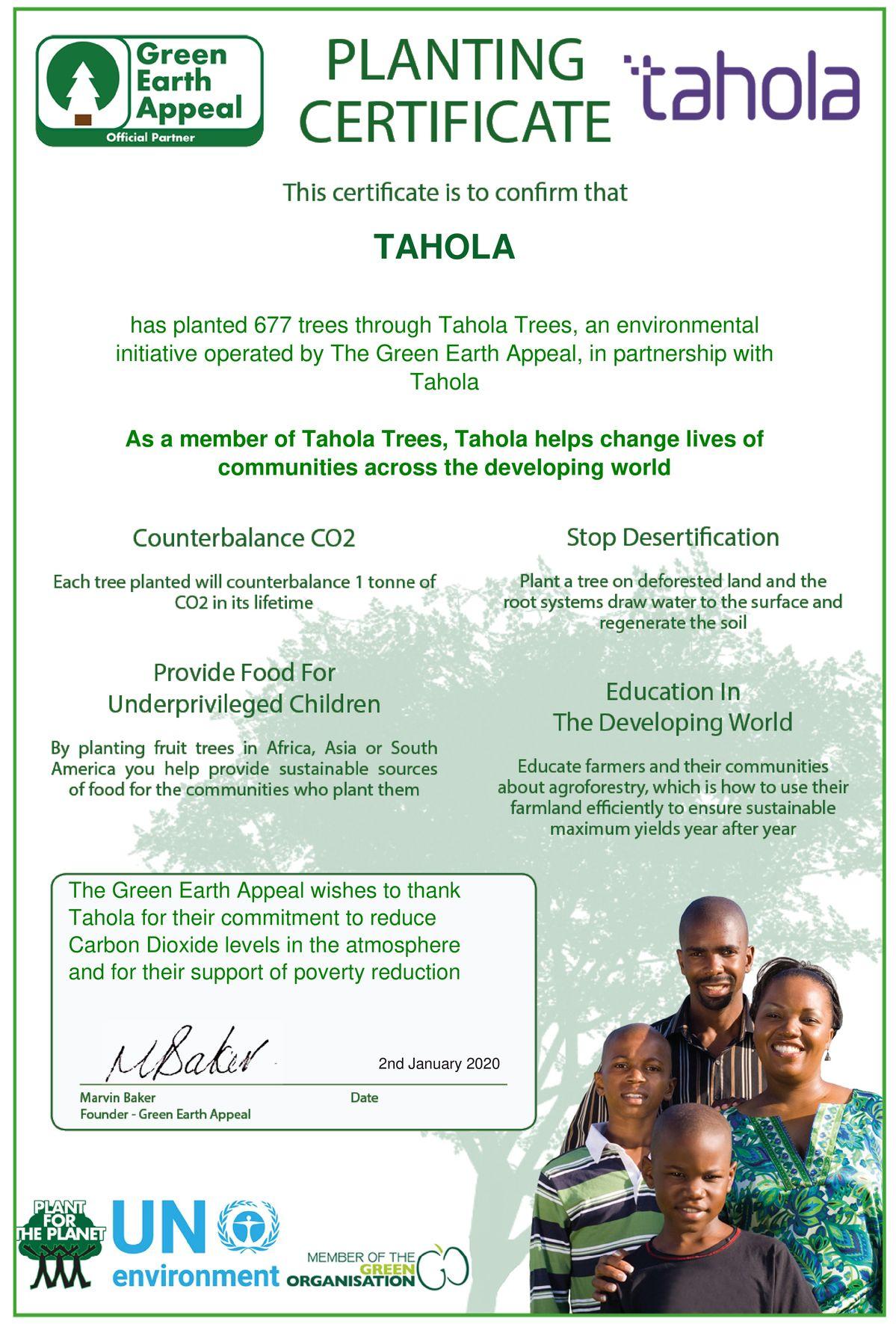 Tahola