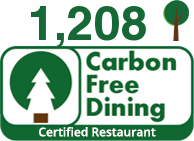 Carbon Free Dining Certified Restaurant - V rev Man