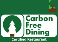 Carbon Free Dining Certified Restaurant - V rev Man
