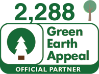 We have planted a total of 348 trees since the start of our partnership with Green Earth Appeal