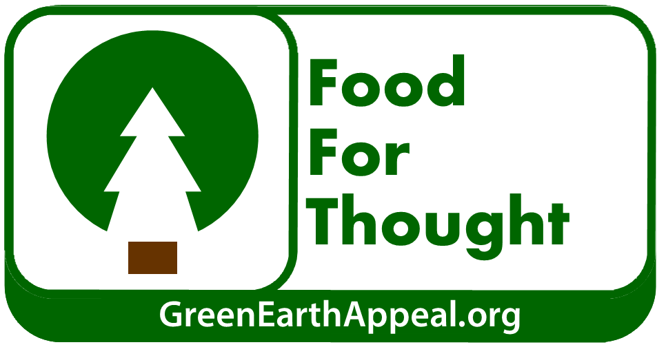 Green Earth Appeal - Food For Thought