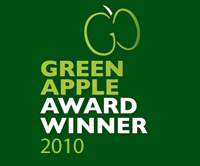 Green Apple Award Winner 2010